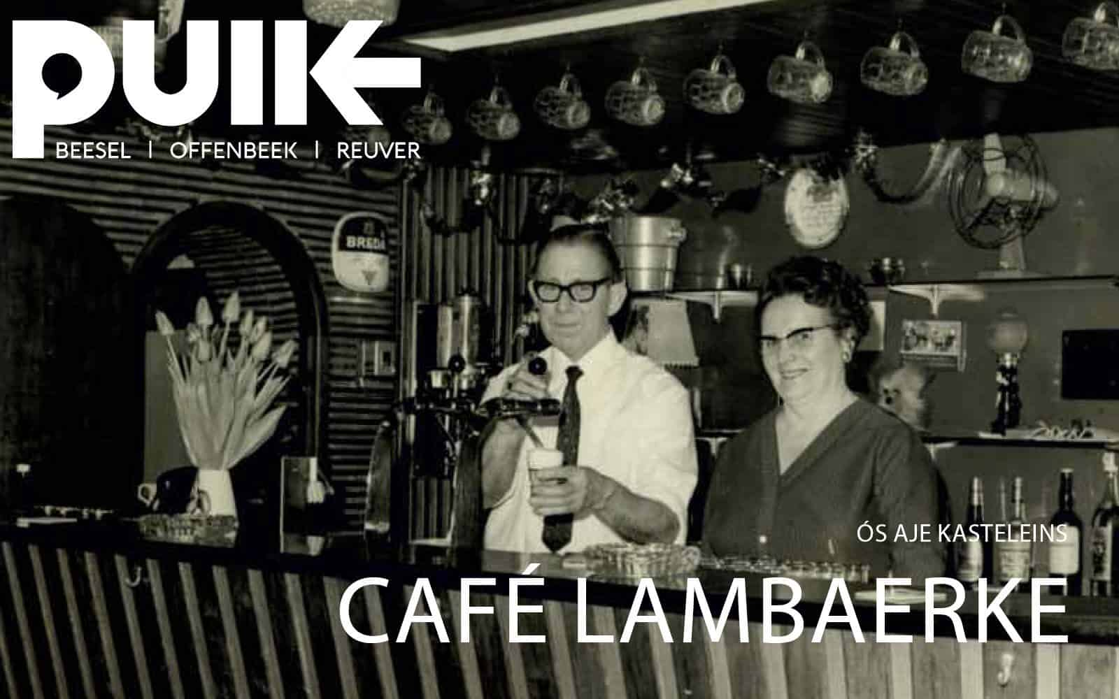 14 november 2018 - Cafe Lambaerke